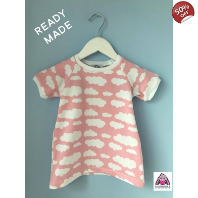 3-4y Baby Pink Cloud T-Shirt..
