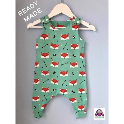 Mint Fox Dungys 18-24m