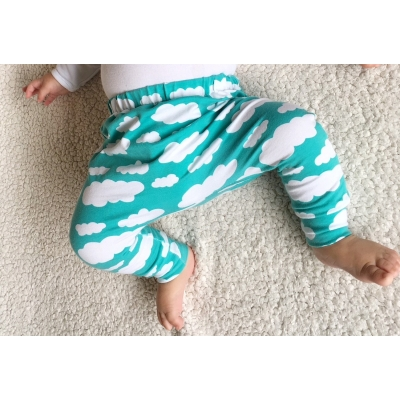 Mint Cloud Leggings 9-12m