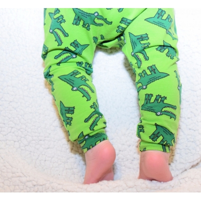 Green Croc Leggings 12-..