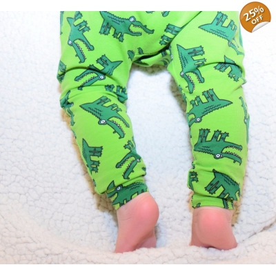PREORDERS 0-3m Croc Leggings