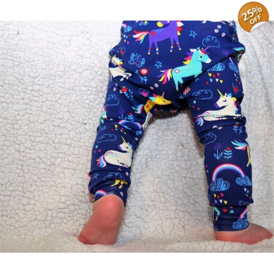 PREORDERS 0-3m Unicorn Leggings