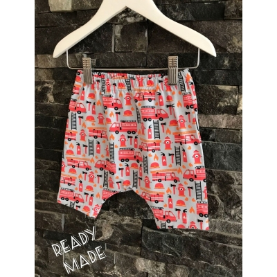 9-12m Fire Engine Shorts