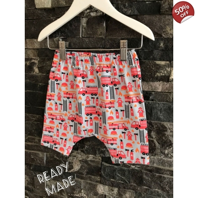 6-9m Fire Engine Shorts