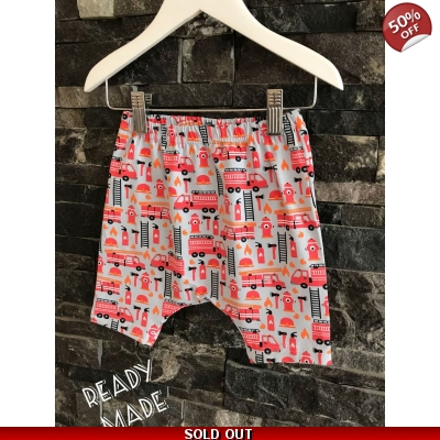 3-6m Fire Engine Shorts