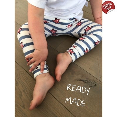 Starfish Leggings 12-18m