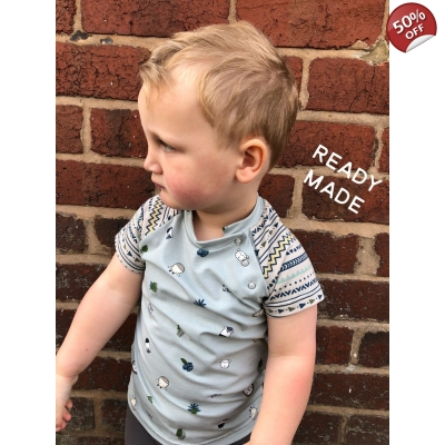 3-6m Stay Wild Tee