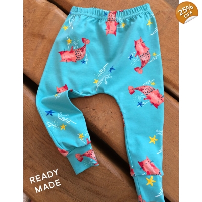 4-5y Mermaid Cats Leggings