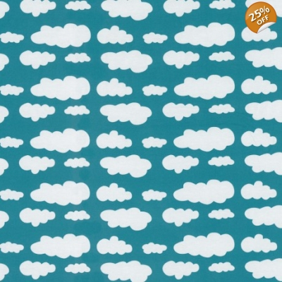 Teal Cloud Dungys 3-4y