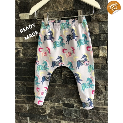 4-5y Wild Horses Leggings