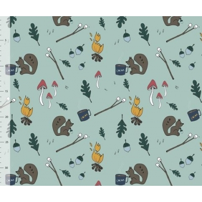 PREORDERS Autumn Camping Leggings 3-4y