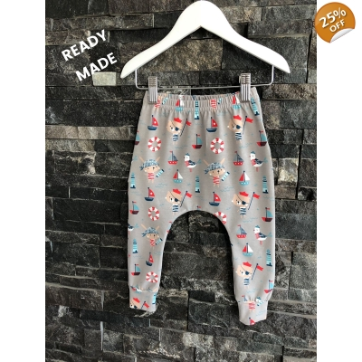 9-12m Ahoy! Leggings