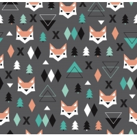 PREORDERS 3-6m Geo Fox Leggings