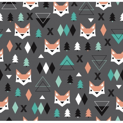PREORDERS Geo Fox Leggings 5-6y