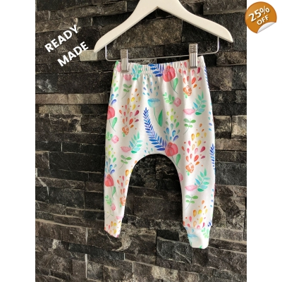 4-5y Watercolour Leggings