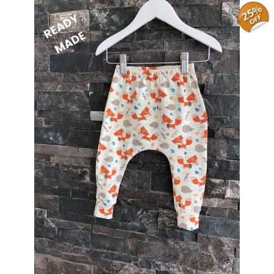 Newborn Fox & Friends Leggings