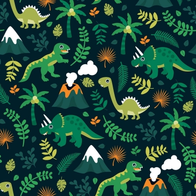 PREORDERS Dino & Volcano Leggings 5-6y