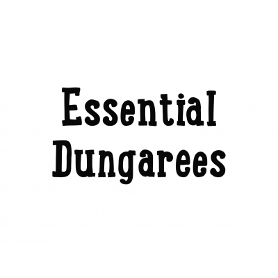 PREORDERS Essentials Dungys 12-18m