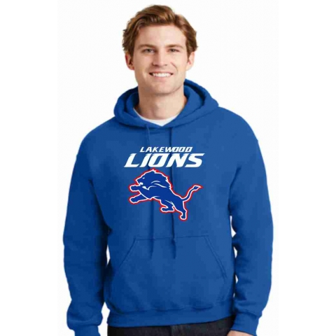 Lakewood Lions Heavy Blend™ Hooded Sweatshirt