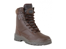 Brown Patrol Boots All Leather