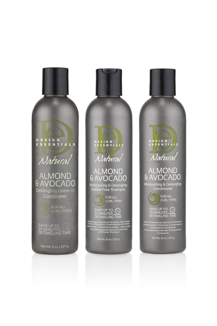 Almond & Avocado Moisturizing and Detangling Collection