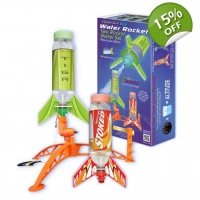 Deluxe Double Water Rocket Starter Set