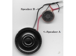 Cordless phone speaker set