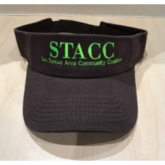 STACC Logo Embroidered Visor
