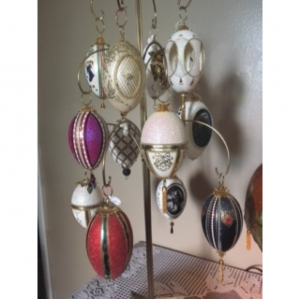 Egg Art Ornaments