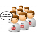 Buy YouTube Custom Comments