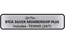 BTCA 'Silver Plus' Membership - Tennis 24/7