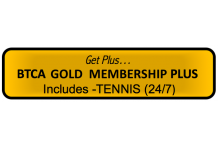 BTCA 'Gold Plus' Membership - Tennis 24/7