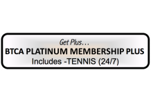 BTCA 'Platinum Plus' Membership - Tennis 24/7