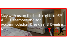 Add accommodation for both days 5th & 6th December
