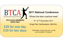 2017 BTCA National Conference Gold/Standard Membership