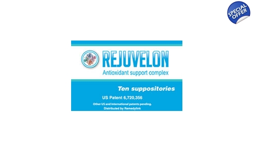 Remedylink Rejuvelon Suppositories 10 Count