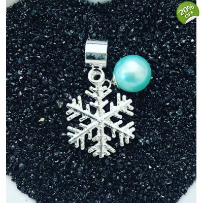 Traditional Snowflake Charm