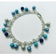 Tones Of Blue Bracelet