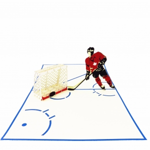 Hockey Birthday Card
