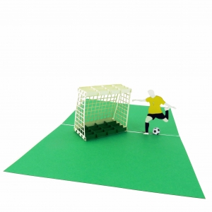 Soccer Pop Up Card