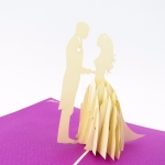 Wedding Day Pop Up Wedding Card