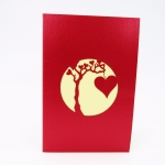 Heart Tree Happy Valentine's Day Card