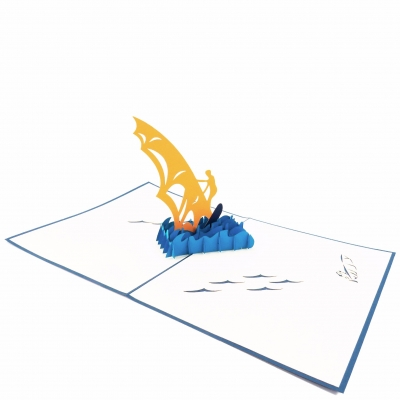 Sailing Pop Up Card