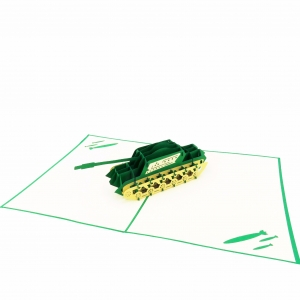 Tank Pop Up Card