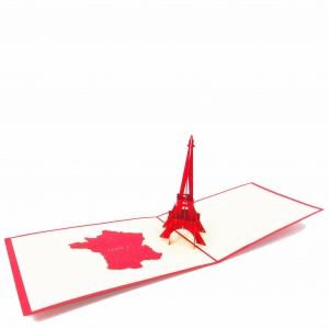 Eiffel Tower Pop Up card