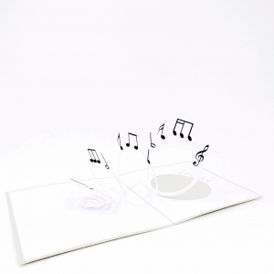 Musical Notes Pop Up Musical..