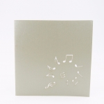 Musical Notes Pop Up Musical Card