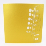 Electric Guitar Pop Up Card
