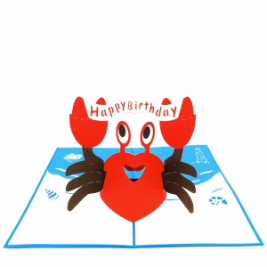 Party Crab Pop Up Birthday C..