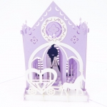 Church 3D Pop Up Wedding Card